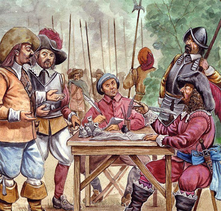 blackpen shop - Anwerbung von Truppen im Drei�igj�hrigen Krieg. Pict_ren_011