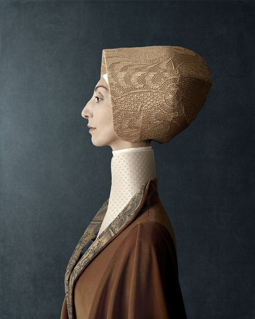 Christian Tagliavini's work. This series called 1503 took 13 months and was inspired by Renaissance masters. Love his use of cardboard and paper.
