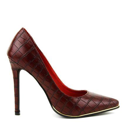 Izayoi Dark Red Croc $59.95 AUD