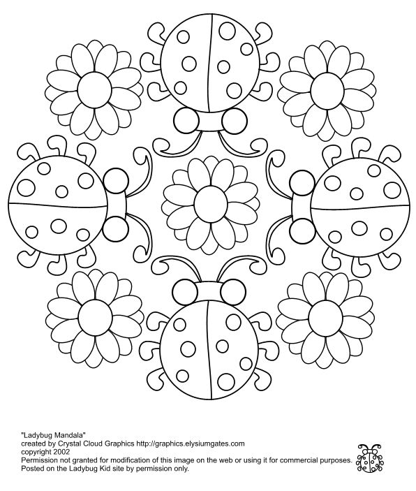 Ladybug Coloring Pages | Trapped In Frames... Click Here To Escape