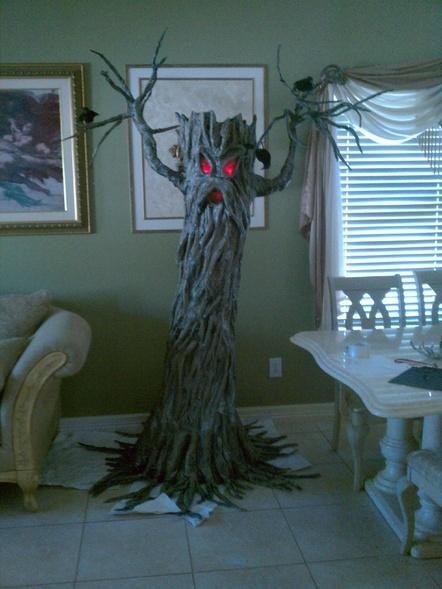 ideas inspirations my haunted tree inspired by the dark gardner halloween decorating ideas
