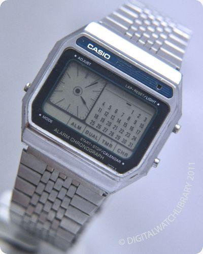 CASIO - AX-250 - DigitalHands - Vintage Digital Watch - Digital-Watch.com
