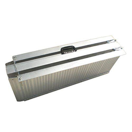 WORHAN® 2.15m Rampe Alu Pliable Valise Aluminium Pour Fauteuil Roulant Chargement Scooter Plate-Forme NEUF R7: Rampe Pliable Valise Alu…