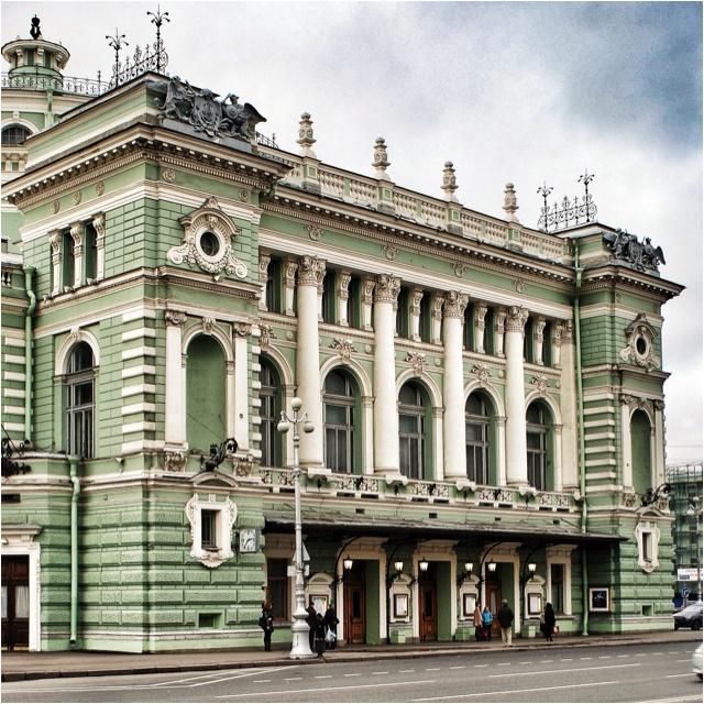 Russia, Saint-Petersburgh. Mariinskiy theatre