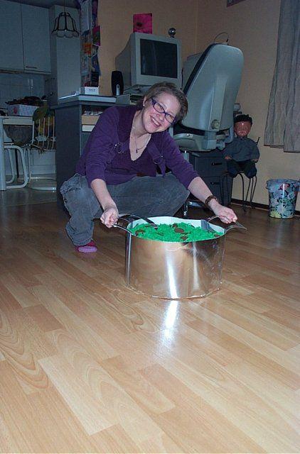 Suprise pan stampot
