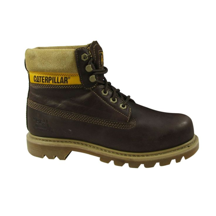Caterpillar Chaussures montantes Colorado en cuir marron foncé - Caterpillar - 48.50€