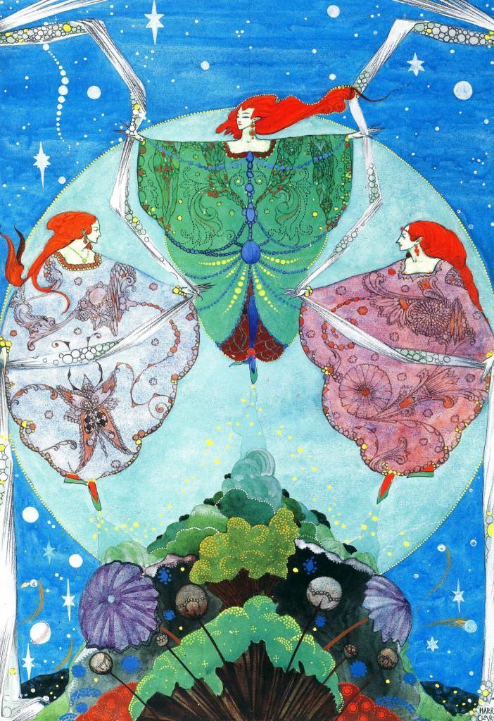 The Elf-Hill  Harry Clarke, Fairy Tales By Hans Christian Andersen