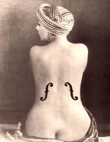 Le Violon d'Ingres, Man Ray, 1924