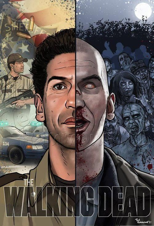 The Walking Dead Transformation - http://zombies.futtoo.com/the-walking-dead-transformation #zombies