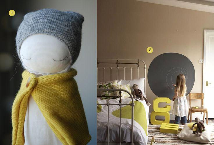 Meer dan 1000 afbeeldingen over Kamer grijs geel op Pinterest
