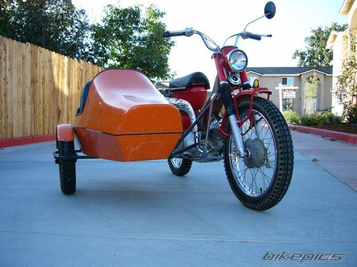 1969 Honda Ct 90 W Side Car Moterbikes Pinterest Auto S En