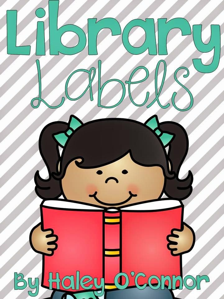 "FREE labels for your classroom library :).....Follow for Free ""too-neat-not-to-keep"" teaching tools & other fun stuff :)"