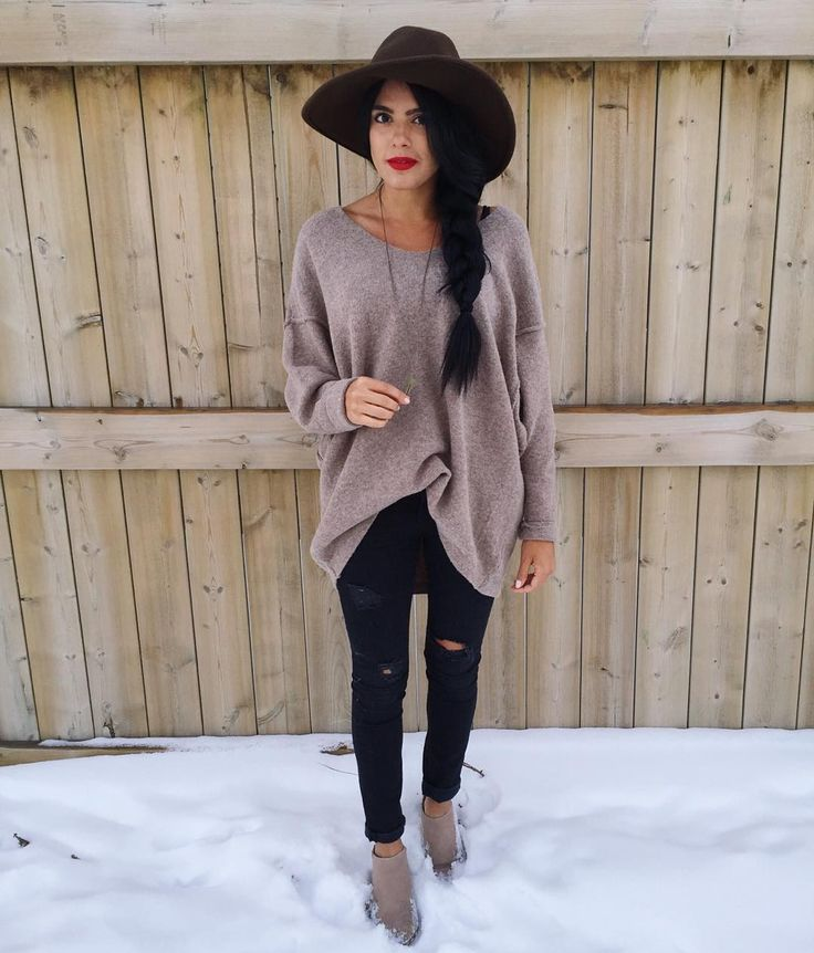 Cozy winter/fall look