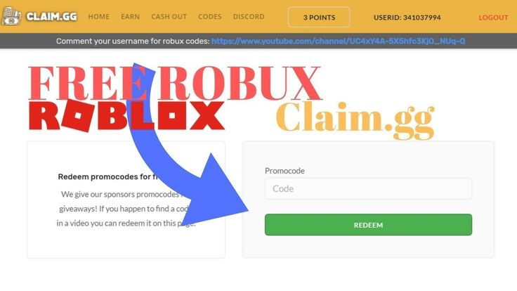 Roblox Promo Codes Free Robux Claimgg How To Get Free Robux On