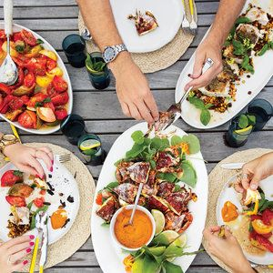 6 Deliciously Easy Grilling Recipes from Chef Marc Murphy   Eat well. Surf hard. Food Network star and wave-riding Hamptons resident Marc Murphy hosts a fiery summer feast featuring deliciously easy grilling recipes.