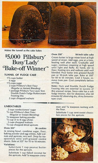 Cake - Tunnel Of Fudge Cake HM0013