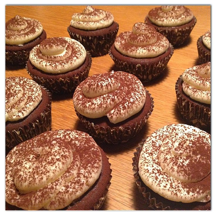 Cupcakes de Mocha {Alma Obregón}