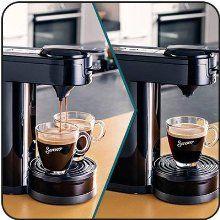 Amazon.de: SENSEO HD7892/60 Switch 2-in-1 Kaffeemaschine für Filter und Pads, schwarz