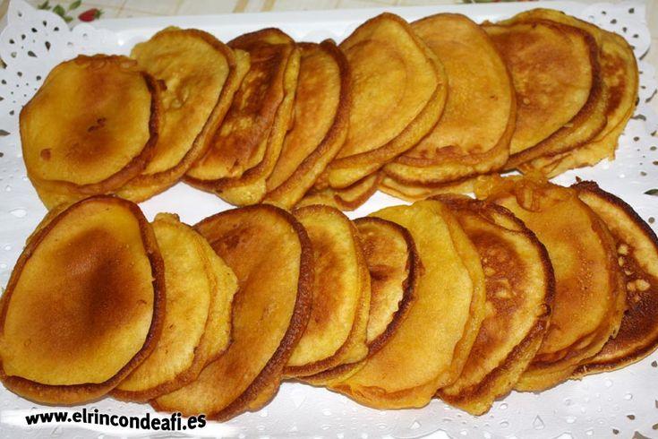 Tortitas de calabaza.