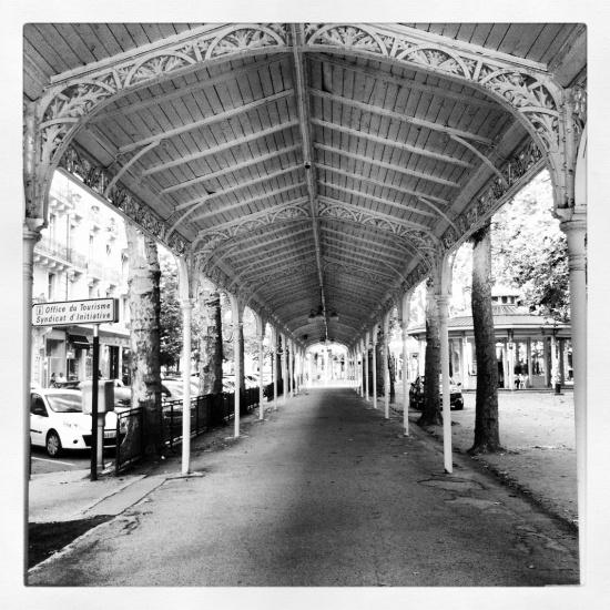 Rue du Parc, Parc des Sources, Vichy