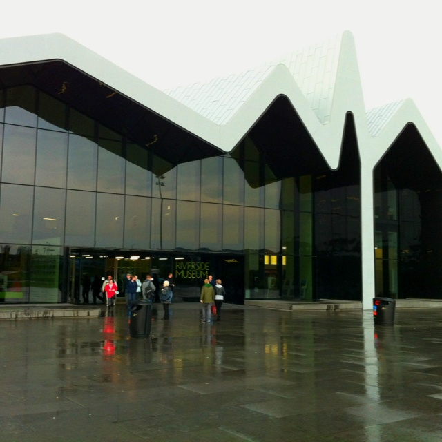 Glasgow Riverside Museum - transport museum