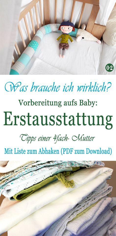 Entspannt aufs Baby vorbereiten: Meine Bucket List {Mit Erstausstattung zum Download – Jutta Hering