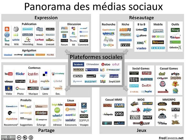 Panorama des médias sociaux 2009