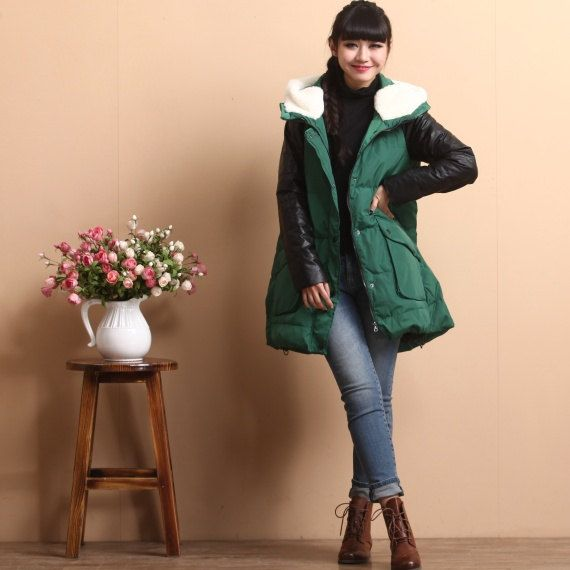 Hooded Down Jacket by deboy2000  I've been watching Heirs, and everyone wears these fabulous coats, and I want one!!