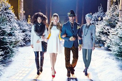 Marks & Spencer Christmas Film Starring Rosie Huntington Whiteley (Vogue.com UK)