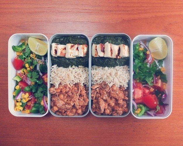 Faça algo saboroso e um pouco extravagante, para que o almoço seja algo esperado.