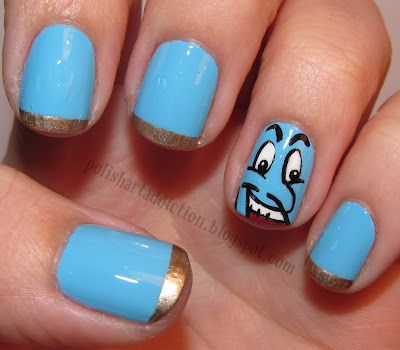 17 best images about fictional nail art on pinterest