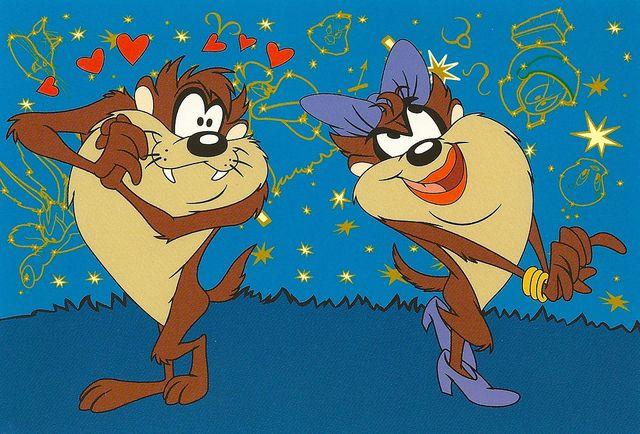 Comics - Tasmanian Devil and She-Devil Taz (Looney Tunes) | Flickr - Photo Sharing!