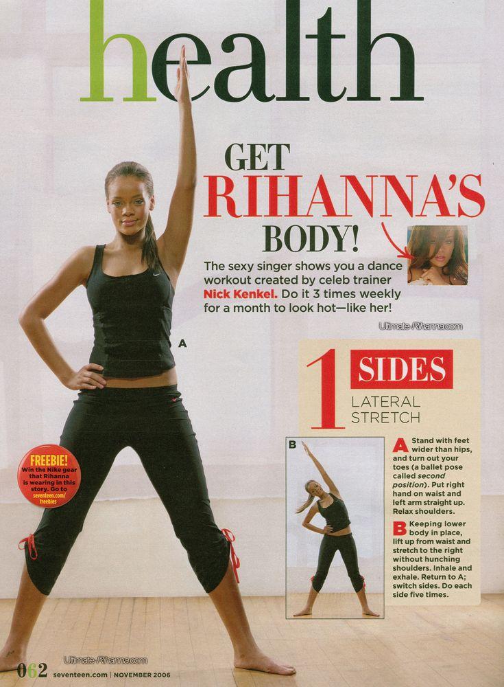 Get Rihanna's Body!
