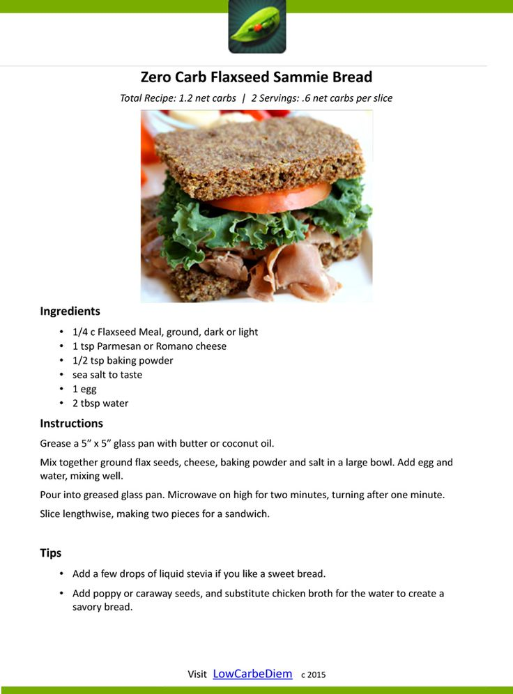 Zero-Carb-Flaxseed-Sammie-Bread-Recipe Card