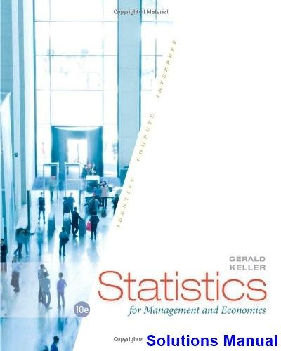 9 best solutions manual download images on pinterest statistics for management and economics 10th edition gerald keller solutions manual test bank solutions fandeluxe Gallery