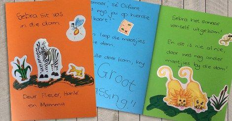 DIY Kids Improvisation Book With Stickers
