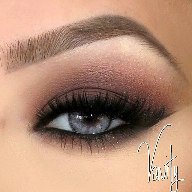 Matte Brown Smokey Eye By Vanitymakeup Eyebrows Brow Wiz In