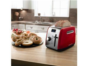 Empire Red 2-slice Mid Line Manual Toaster by KitchenAid by KitchenAid at Cooking.com