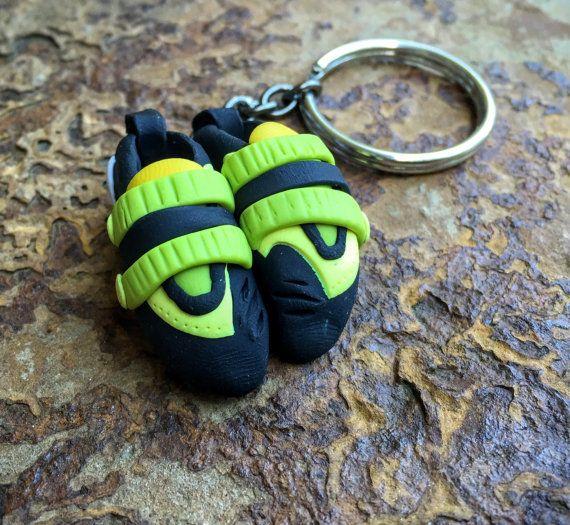 Rock Climbing Shoe Keychain Custom and unique gift by HeelHooks