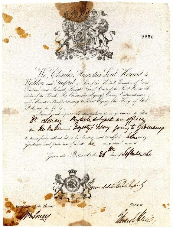 What did Victorian-era passports look like? - Quora