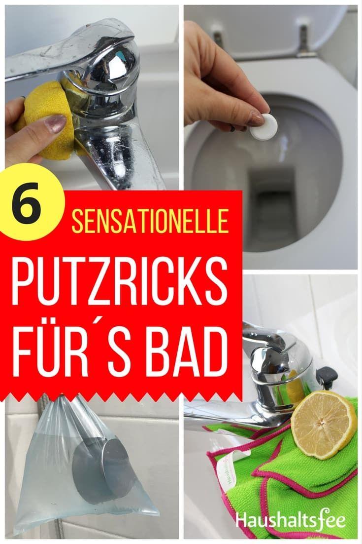 Sensationelle Putztricks Furs Badezimmer Haushaltsfee Haushalt Badewanne Reinigen