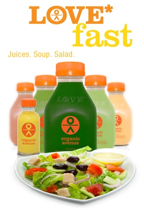 Love Fast Cleanse by Organic Avenue
