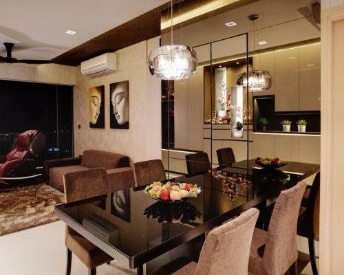 Rainforest Property Type: Condominium, Design Style: Modern  http://www.renonation.sg/project/rainforest/