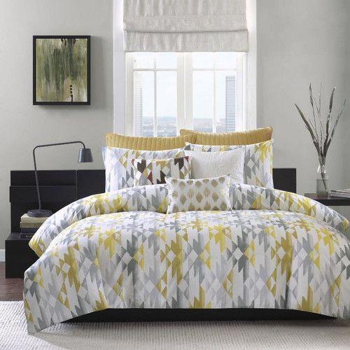 Found it at Wayfair.ca - Sierra 3 Piece Comforter Set in Yellow