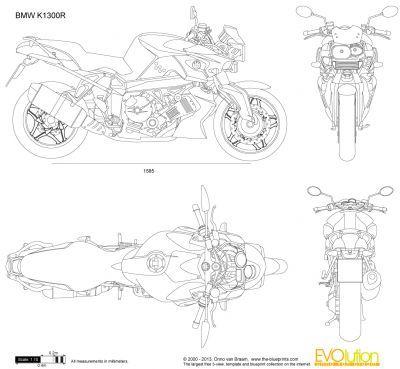 11 best artsy blueprints images on pinterest cars motorcycles bmw k1300r malvernweather Images