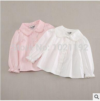 Корейский язык версии рубашка рукавами рубашка и белый рубашка дети одежда