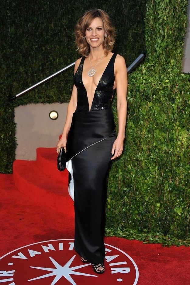 Hilary Swank Gorgeous Gowns Oscar Dresses Dresses