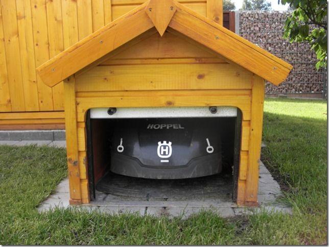 die besten 17 ideen zu rasenroboter garage auf pinterest. Black Bedroom Furniture Sets. Home Design Ideas