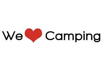 We love Camping Autoaufkleber
