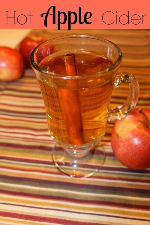 Simple hot apple cider recipe with cinnamon and a minimal amount of sugar. This crock pot apple cider recipe will be a favorite for years.